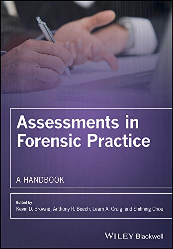 Assessments in Forensic Practice: A handbook. (2017)